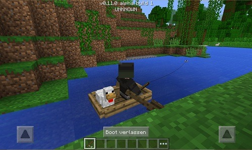 Minecraft Pocket Edition Guide 2021 with chicken