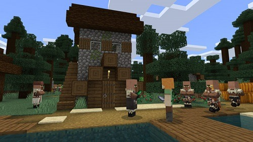Minecraft For Beginners interaction with others