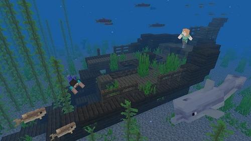 Minecraft For Beginners perilous underwater exploration