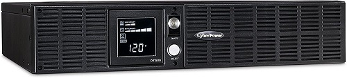 Power Supply CyberPower Smart App LCD UPS System, 1500VA/900W W/ 8 Outlets, AVR, 2U Power Supply