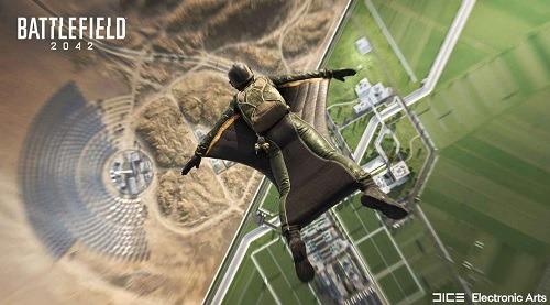 Battlefield 2042 the wingsuit