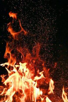 Iron Powder Combustion