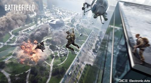 Battlefield 2042 Crossplay Jump Scene