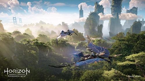 Horizon Forbidden West dragons