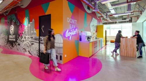 Ubisoft Singapore workplace