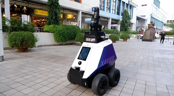 Singapore Is Testing Small Patrol Robots To Focus On Small-Time Crime