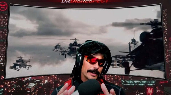 Steamer Dr Disrespect Suing Twitch After Last Year's Incident
