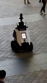 Patrol Robots in the flesh!
