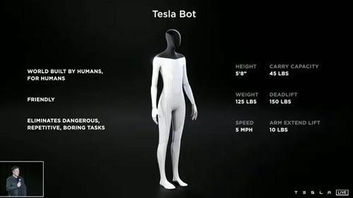 Humanoid Robot specs we know